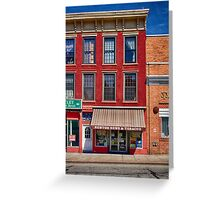 Small Town America Greeting Card