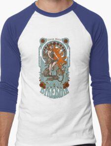 BikeBike Nouveau Men's Baseball ¾ T-Shirt