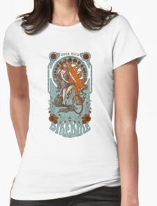BikeBike Nouveau Womens Fitted T-Shirt