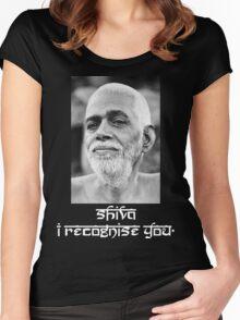 Sri Ramana Maharshi Women's Fitted Scoop T-Shirt