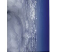 Fade into Blue Sky Photographic Print
