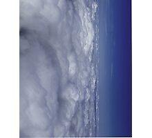 Fade into Blue Sky Photographic Print