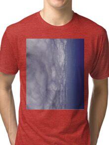 Fade into Blue Sky Tri-blend T-Shirt