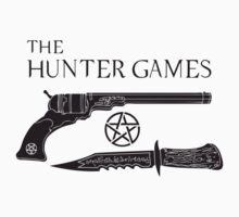 The Hunter Games Alternative Design (Black) by DANgerous124