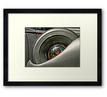 2013 Calendar - Classic Wheels - August Framed Print