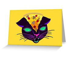 Delicious Cat Greeting Card