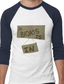 Supernatural - DR. BADASS: IS IN Men's Baseball ¾ T-Shirt