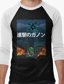 Attack on Ganon Men's Baseball ¾ T-Shirt