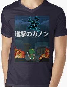 Attack on Ganon Mens V-Neck T-Shirt