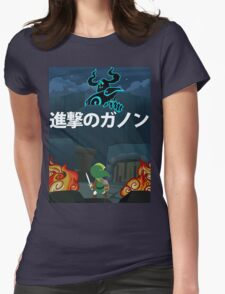 Attack on Ganon Womens Fitted T-Shirt