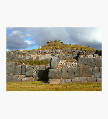 Inca stonework Photographic Print