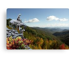 Mountain Travelers Canvas Print