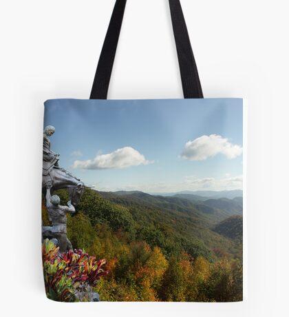 Mountain Travelers Tote Bag