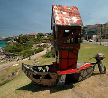 Outboard Motorboat @ Sculptures By The Sea 2011 by muz2142