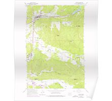 USGS Topo Map Washington State WA Bucoda 239693 1959 24000 Poster