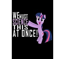 Science Poster Photographic Print