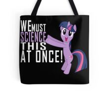 Science Poster Tote Bag