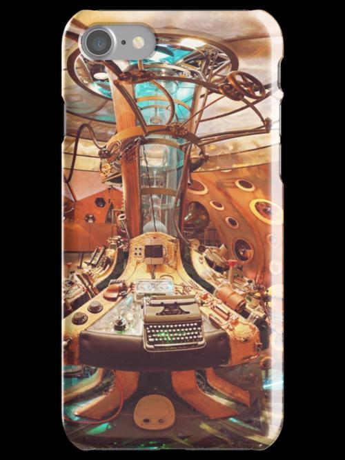 TARDIS interior by phantompunch