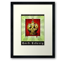 Lord Liberty Framed Print