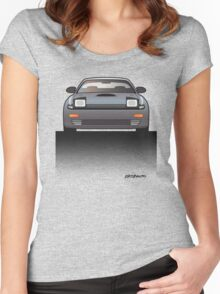 Modern Japanese Icons Series Toyota Celica  GT-Four All-Trac Turbo ST185 Women's Fitted Scoop T-Shirt