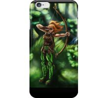 Elven Archer  iPhone Case/Skin