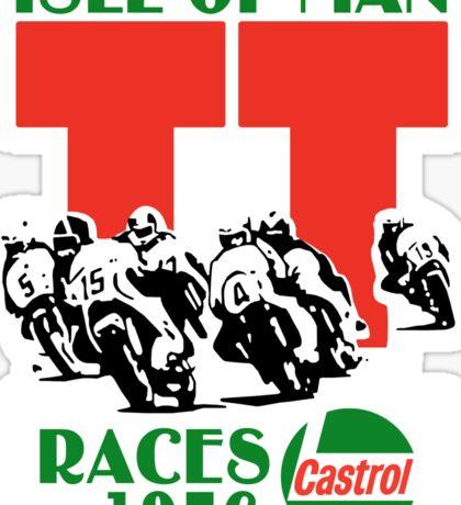 Isle Of Man TT Races 1976 Sticker