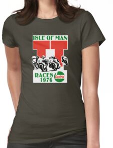 Isle Of Man TT Races 1976 Womens Fitted T-Shirt