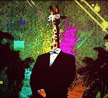 Classy Giraffe In Tuxedo by Eliotmad