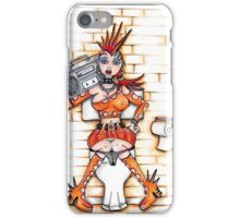 Loo Lady - Zara iPhone Case/Skin