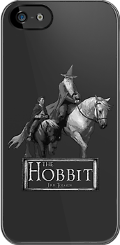 The Hobbit (Black And White) by picky62