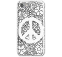 Peace, Love, and Coloring iPhone Case/Skin
