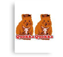 Quokka Quokka Canvas Print