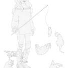 Cat Wrangler by redqueenself
