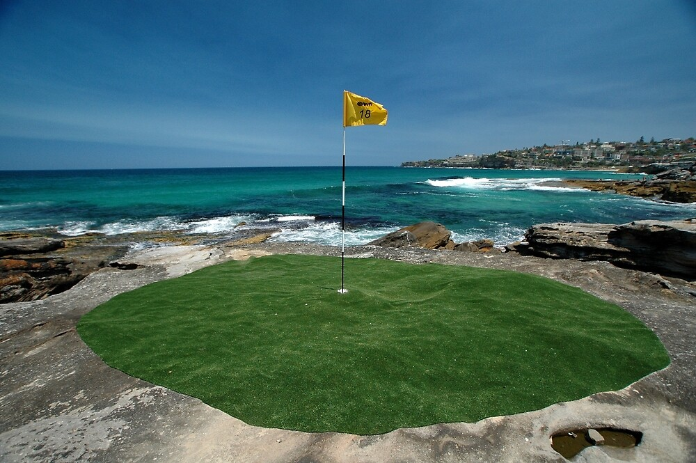 18th Hole, Sculptures By The Sea, Australia 2011 by muz2142