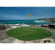 18th Hole, Sculptures By The Sea, Australia 2011 Photographic Print