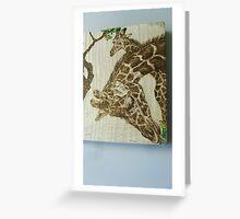 Giraffs Greeting Card