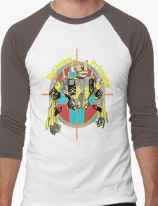 Optimus Primate Target Men's Baseball ¾ T-Shirt