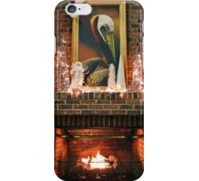 Fireplace Christmas iPhone Case/Skin