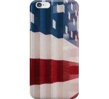 American Flag Legos iPhone Case/Skin