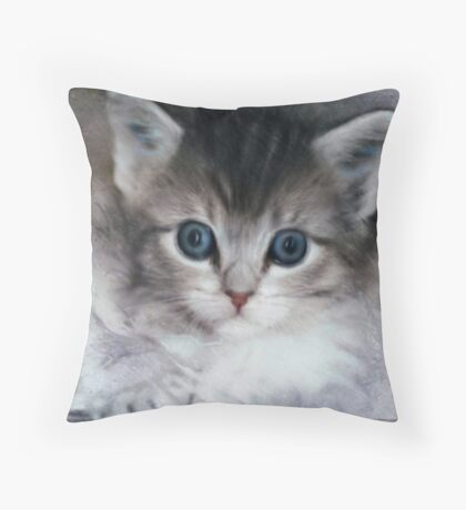It is a big world out there Throw Pillow