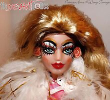 Delightful Delilah close up by deviantdolls