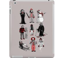 HORROR LIVES WINTER iPad Case/Skin
