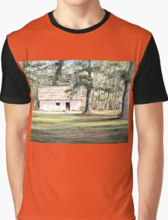 The Old Spanish House Graphic T-Shirt