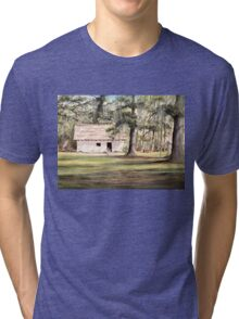 The Old Spanish House Tri-blend T-Shirt