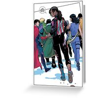 Young avengers Greeting Card