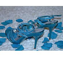 They are NOT Cinderella's Slippers Photographic Print