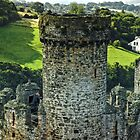The Tower of Conwy Castle by hans p olsen