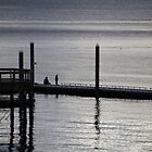 Late afternoon on the dock by Rainydayphotos