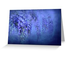 """In Love with WIsteria..."" Greeting Card"