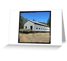 tin roof rusted 5 Greeting Card